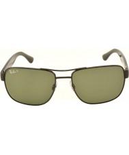 RayBan occhiali da sole Rb3530 58 Highstreet canna di fucile 002-9a polarizzati