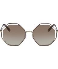 Chloe Signore ce132s 205 58 occhiali da sole di papavero