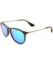 RayBan Rb4171 54 erika nero 601-55 blu occhiali a specchio