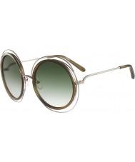 Chloe Donne ce120s occhiali da sole color kaki oro Carlina