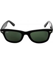 RayBan Rb2140 wayfarer originale nero - verde