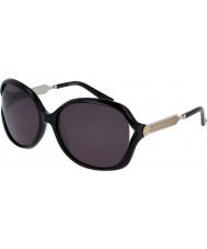 Gucci Donne gg0076s occhiali da sole nero argento