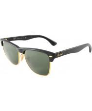 RayBan Rb4175 57 Clubmaster sovradimensionati demi lucido nero-oro 877 occhiali da sole