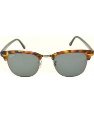 RayBan RB3016 51 Clubmaster macchiato blu avana 1158r5 occhiali da sole