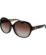 Gucci Donne gg0080sk occhiali da sole avana