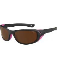 Cebe Jorasses medio nero opaco rosa 2000 marrone specchiato gli occhiali da sole