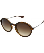 RayBan Rb4222 50 giovane tartaruga gomma 865-13 gli occhiali da sole