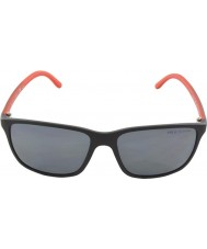Polo Ralph Lauren Ph4092 58 nero opaco 550481 occhiali da sole polarizzati