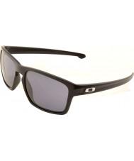 Oakley Oo9262-01 nastro nero opaco - occhiali da sole grigio