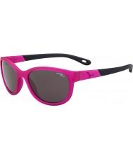 Cebe Katniss (età 7-10) cristallo opaco rosa 1500 occhiali da sole di luce blu grigio
