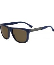 HUGO BOSS Uomo capo 0834-s hwq sp occhiali da sole polarizzati blu