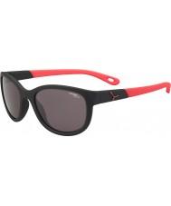 Cebe Katniss (età 7-10) opaco nero rosa 1500 occhiali da sole di luce blu grigio