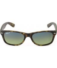 RayBan RB2132 55 nuovi opaca viandante di tartaruga 894-76 occhiali da sole polarizzati