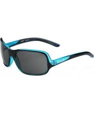 Bolle Kassia lucido blu nero polarizzato TNS occhiali da sole