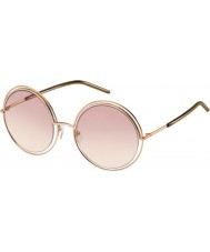Marc Jacobs Donne marc 11-s txa 05 occhiali da sole oro marrone