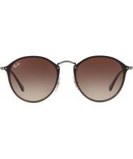 RayBan Blaze round rb3574n 59 004 13 occhiali da sole
