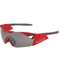 Bolle 6 ° Senso s lucidi occhiali da sole di pistola TNS rosso