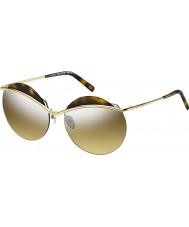 Marc Jacobs Donne marc 102-S J5G gg oro argento specchio occhiali da sole