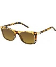 Marc Jacobs Marc 17-s U63 vo occhiali da sole d'oro avana