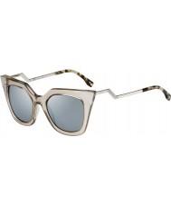Fendi Iridia ff occhiali da sole di cristallo 3U 0060-s MSQ