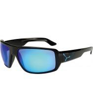 Cebe lucidi occhiali da sole blu nero Maori