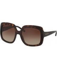 Michael Kors Mk2036 55 porto nebbia tartaruga scuro 300613 occhiali da sole