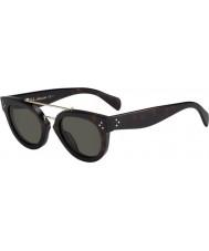 Celine Cl 41043-s 086 1e occhiali di tartaruga