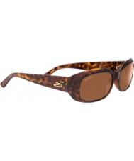 Serengeti Bianca scintillio tartaruga polarizzato driver occhiali da sole