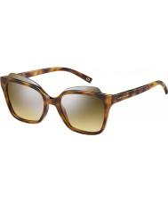 Marc Jacobs Donne marc 106-S n36 gg avana occhiali da sole a specchio argento