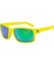 Cebe Amico neon giallo occhiali da sole verde
