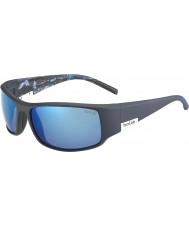 Bolle Re opaca mare blu polarizzato occhiali da sole blu off-shore