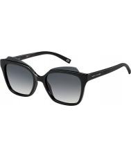 Marc Jacobs Signore marc 106-s D28 9o occhiali da sole neri lucidi
