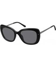Polaroid Donna pld4044-s cvs Y2 rutenio nero occhiali da sole polarizzati