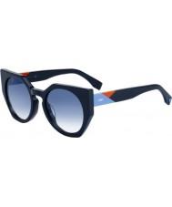 Fendi Sfaccettature donna ff 0151-s pjp u3 occhiali da sole