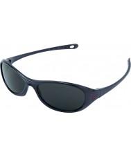 Cebe Gecko (età 5-7) nero lucido 2000 grigi occhiali da sole