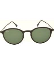 RayBan Rb4224 49 Tech raggio di luce nero opaco 601s71 occhiali da sole