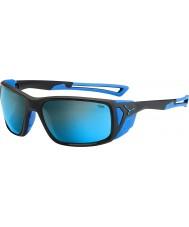Cebe Proguide opaco nero blu 4000 grigio minerali blu occhiali da sole