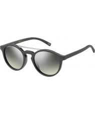 Marc Jacobs Marc 107-s DRD Gy occhiali da sole a specchio grigio argento scuro