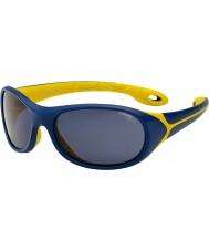 Cebe Simba (età 5-7) notte blu occhiali da sole giallo