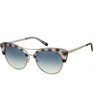 Polaroid Donna pld4045-S MSS Z7 nero avana oro rame occhiali da sole polarizzati