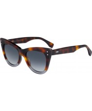 Fendi Ladies ff 0238-s ab8 occhiali da sole 9o