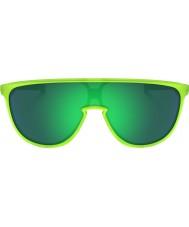 Oakley Oo9318-07 trillbe opaca uranio - occhiali da sole giada Iridium