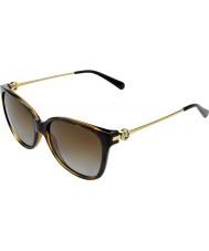 Michael Kors Mk6006 57 occhiali da sole di Marrakech 3006t5 tartaruga scure polarizzate