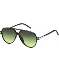 Marc Jacobs Marc 44-s D28 ib occhiali da sole neri lucidi