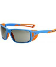 Cebe Proguide opaco blu arancio occhiali da sole variochrom picco