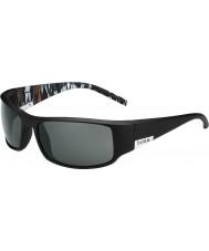 Bolle Re opaco arancio nero zebra occhiali da sole polarizzati TNS