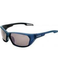 Bolle Aravis opachi occhiali da sole di pistola blu TNS polarizzato