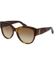 Saint Laurent Signore sl m3 005 55 occhiali da sole