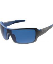 Bolle Diamondback nero lucido blu polarizzata gb-10 gli occhiali da sole