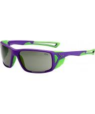 Cebe Proguide occhiali da sole di picco variochrom verde viola